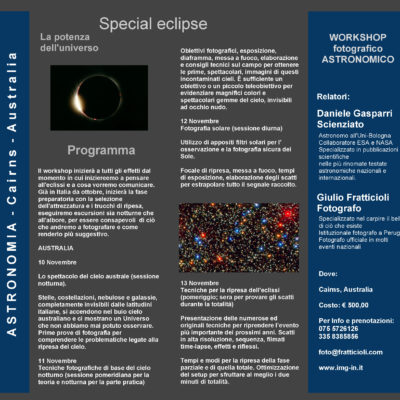 Workshop: Special Eclipse