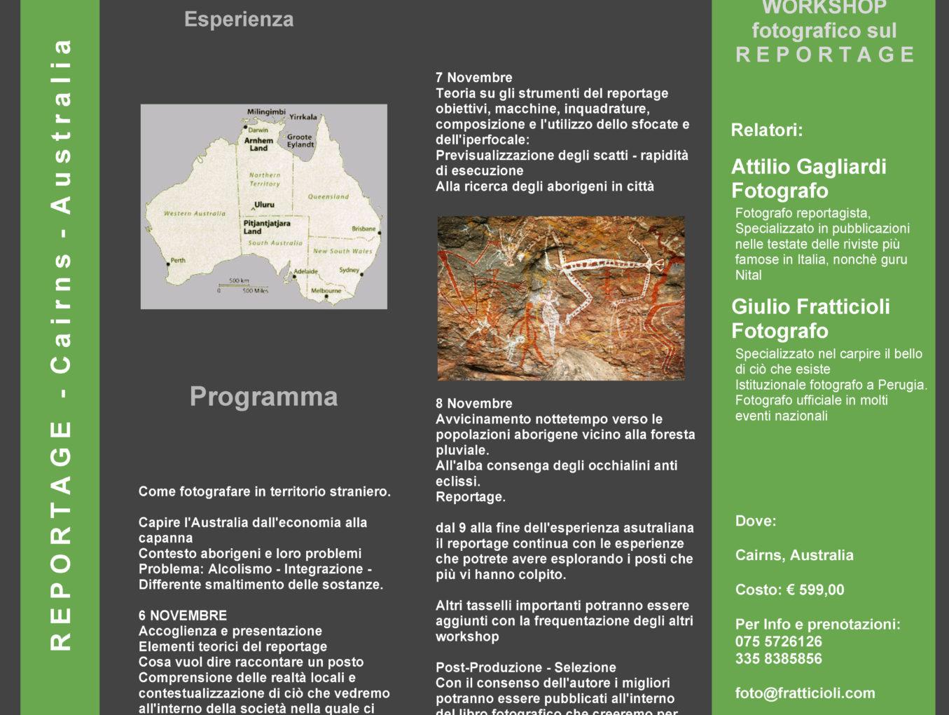 Workshop: Il Reportage