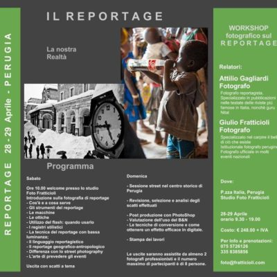 Workshop: Il Reportage